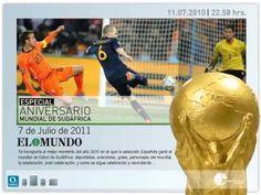 "▶ Teaser flash ""El Mundo"" newspaper 06/2011 - YouTube - - world cup 2010 special report"