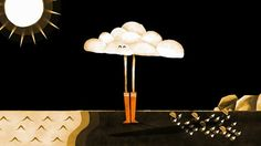 Cloud / the newest video in a series (Giants) of adorable animations from Céline and Yann.