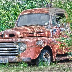 1950 Ford F100 - available in cards, prints & posters