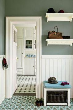 Farrow Ball, Farrow And Ball Paint, Living Room Green, Living Room Paint, Green Dining Room, Bedroom Green, Bedroom Colors, Bedroom Ideas, Card Room Green Farrow And Ball