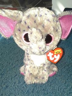 New Elephant Beanie Boo From Justice. Name Specks Ty Beanie Boos 654677f9bc5a