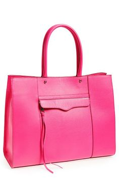 Yes to this hot pink tote | Rebecca Minkoff