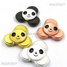 11033 Panda Metal Fidget Spinner Assorted Mix Colour