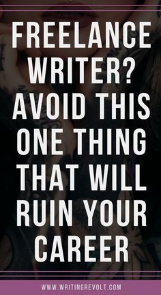 Are you looking for freelance writing jobs? Trying to make money writing online? You're probably making this HUGE mistake that can ruin your career – read to learn what it is + how to avoid it!