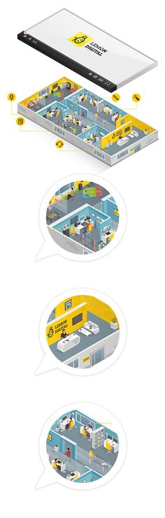 "Office ""Lemon Digital"" on Behance"