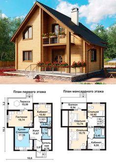 floor plan: bdrms, give LR better access from hall, one full bath on main floor, add base Sims House Plans, Dream House Plans, Modern House Plans, Small House Plans, House Floor Plans, Casas The Sims 3, A Frame House, Sims 4 Houses, House Blueprints