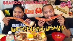 Just dropped another #seafood #mukbang #video #4 on our #coupleschannel @jas_mar3. Make sure yall go check us out and subscribe while your there more great content on the way. #youtube #youtuber #youtubers #youtubechannel #subscribe #like #comment #share #repost #linkinbio #linkincoupleschannelbio #kingcrab #kingcrablegs #crablegs #shrimp #tigershrimp #jumboshrimp #corn #cornonthecob #delicious #tasty #tastyfood