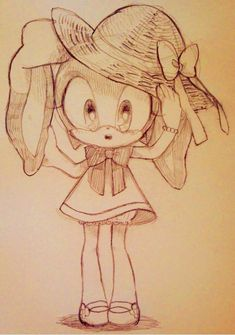 Cutie pie Cream the rabbit :-) Sonic Fan Characters, Cartoon Characters, Amy Rose, Shadow The Hedgehog, Sonic The Hedgehog, Sonic Free Riders, Blaze The Cat, Cream Sonic, Big The Cat