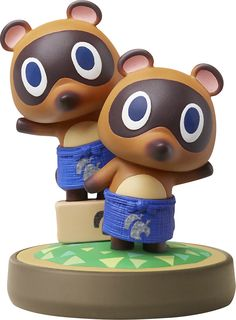Nintendo - amiibo Figure (Animal Crossing Series Timmy & Tommy), NVLCAJAQ