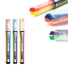 This Beetle Tip Dual Color Highlighter Set at CoolPencilCase.com