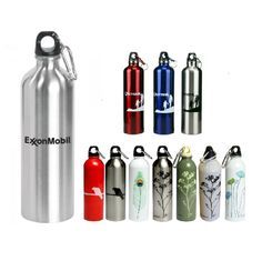 "Your campaign message is always in great ""shape"" once it's on this water bottle! This 25 oz. stainless steel water bottle with a screw-on lid features an attached carabiner. No matter where clients and prospects need to go, their bottles can go with them. Easily fitting into most auto cup holders, this BPA free &FDA approved giveaway is perfect for any conference, project or event. Have your logo or message imprinted on yours today! Marketing Budget, Cup Holders, Stainless Steel Water Bottle, Water Bottles, Conference, Giveaway, Promotion, Campaign, Shape"