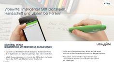 #Vibewrite: Intelligenter #Stift digitalisiert Handschrift
