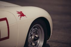 Mobil Pegaso Adesivi Idea For Classic Vintage Race Auto Porsche Mercedes Audi