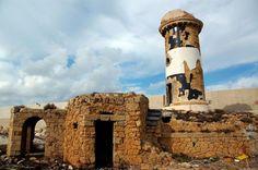 Il vecchio faro di Brindisi, Puglia. #faro #lighthouse #Adriatico #marAdriatico