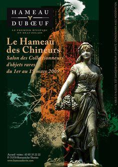 Hameau Dubœuf, Affiche Chineurs , 2009©markcom