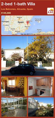 2-bed 1-bath Villa in Los Balcones, Alicante, Spain ►€145,000 #PropertyForSaleInSpain