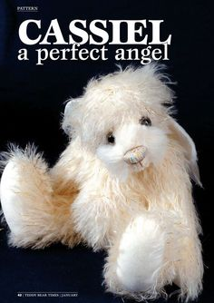 Wishing everyone a Merry Christmas from Teddy Bear Times magazine. Download a FREE pattern https://www.dropbox.com/s/jout4snlyi0jl6y/TBTPAT132.pdf?dl=0 of Cassiel. Enjoy!   More patterns can be downloaded for just £1 on our website https://www.dropbox.com/s/jout4snlyi0jl6y/TBTPAT132.pdf?dl=0