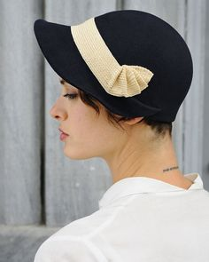 Magnificent classic hats made by Behida Dolic.