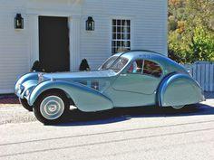 1936 Bugatti Type 57SC Atlantic.