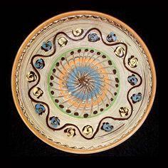 Pottery Plates, Folk Art, Decorative Plates, Colours, Traditional, Create, Beautiful, Plate, Porcelain