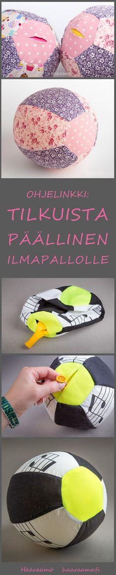 Ohjelinkki: Tilkuista päällinen ilmapallolle. http://www.haaraamo.fi/