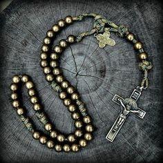 Just bought 3 of these. They arrived in 3 days. 1 for my Viet Nam vet, 2 for my guys. Awesome Rosaries. They are tough, masculine, with substantial medals. They look even better in real life. Perfect for regular guys, soldiers, police, and the man whom you want to encourage to pray. What a great Catholic Father's Day gift!!!