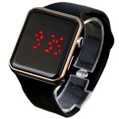 Universal Mujer Hombre Digital LED Reloj Electrónico Plástico Moda de  Deporte bb0246381ddd