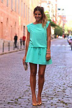 Vestido/Dress: Celop Woman-Buylevard (SS 13)  Zapatos/Shoes: Pilar Burgos (SS 13)  Clutch: The Code (SS 13)  Pulseras/Bracelets: Pulseras Carolinas (SS 13)