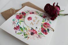 Papiernictvo - Svadobné oznámenie Watercolor - 6560003_