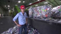 """CarbonLite is the world's largest """"bottle-to-bottle"""" plastic recycling plant in Riverside, Calif. """"SoCal Connected"""" takes a look inside the state-of-the-art . Recycled Bottles, Plastic Bottles, Water Bottles, Recycling Plant, Plastic Recycling, Climate Change Problems, Geek Tech, Plastic Pollution, Problem And Solution"""