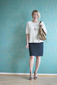 Legeres Büro-Outfit