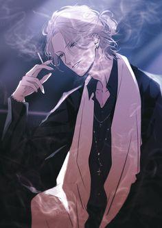 Dark Anime Guys, M Anime, Cool Anime Guys, Anime Sexy, Hot Anime Boy, Handsome Anime Guys, Anime Boys, Anime Boy Zeichnung, Anime Negra