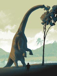 BRUDE'S WORLD : RIP Richard Attenborough (August 29, 1923 - August 24, 2014) | It's a Dinosaur by Mark Englert, 2013