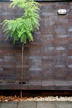 brick pattern house by alireza mashhadimirza
