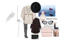 """Ki-mono"" by aninda93 on Polyvore featuring Monki, Givenchy, CLUSE, Fendi, Tamara Mellon, River Island, Ryan Roche, Lipstick Queen, women's clothing and women's fashion"