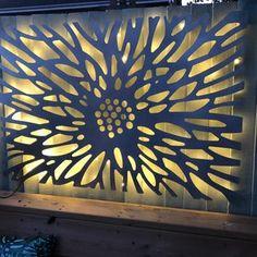 Outdoor Metal Wall Art, Metal Wall Art Decor, Tree Wall Art, Outdoor Walls, Metal Wall Panel, Metal Panels, Panel Wall Art, Decorative Metal, Decorative Panels