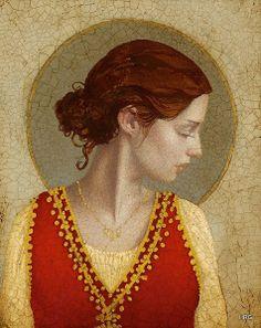 James Christensen - Saint Appolonia by Hidden Ridge Gallery, via Flickr