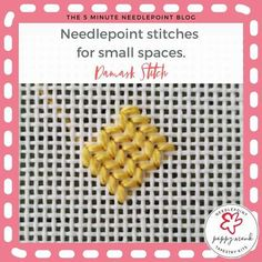 Needlepoint Stitches, Needlepoint Kits, Needlepoint Canvases, Needlework, Tapestry Kits, Three Little, Small Leaf, Flower Petals, Plastic Canvas