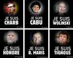L'attentat commis mercredi contre le siège de l'hebdomadaire satirique «Charlie Hebdo» a fait 12 morts.  Si les journalistes et dessinateurs du journal satirique étaient les cibles premières de l'attaque, des policiers, un agent d'entretien, un visiteur, une psychanalyste, un correcteur et un économiste ont aussi succombé.