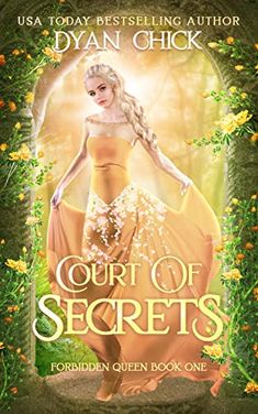 Court of Secrets: Reverse Harem Fantasy Romance (Forbidden Queen Book by [Chick, Dyan] Book Series, Book 1, Fantasy Books To Read, Book Suggestions, Book Recommendations, Book Challenge, Beautiful Book Covers, Fantasy Romance, The Secret Book