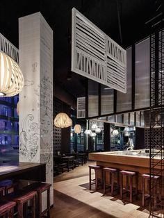 GinYuu Stuttgart   Restaurant Design By Ippolito Fleitz Group