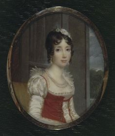Portrait of Julie Clary, Queen Consort, of Naples and Sicily, Queen Consort of Spain and the Indies. She was born on this day, December in