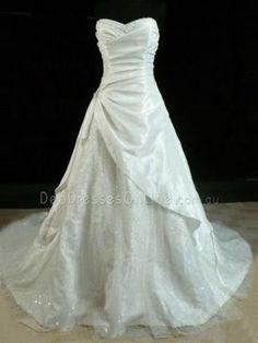 A Line Sweetheart Neckline Taffeta Glittery Deb Dress - Emmy Deb Dresses, Simple Dresses, Beautiful Dresses, Debutante Dresses, Boutique Dresses, Dress Making, One Shoulder Wedding Dress, Wedding Gowns, Fashion Dresses
