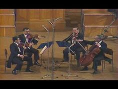 "Tchaikovsky: String Quartet No. 1 in D Major, op. 11 (""Accordion""). Played by the Artemis Quartet, Duke University, April 18, 2015."
