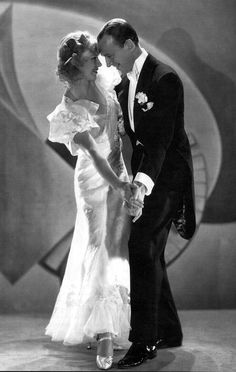 Fred Astair and Ginger Rodgers