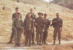 Special Forces Vietnam: These men are so young. It breaks my heart to think of our young men sent to fight a political war they were never allowed to win. They were everyone heroes.