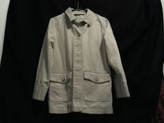 Eddie Bauer Mens Outdoor Outfitter Jacket Solid, XS, 100% Cotton, Beige #EddieBauer #OutdoorOutfitter