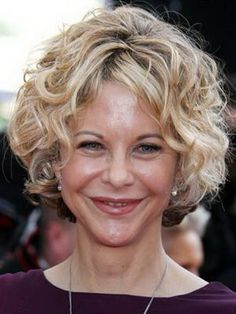 Short curly hairstyles for women over 50 pictures