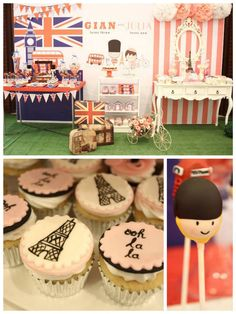 """Still thinking of what to do for World Thinking Day on February 22? Try this """"London + Paris Themed Party"""""""