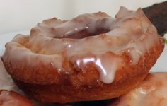 Monday Morning Donut: Glazed Old-Fashioned Rings and Holes